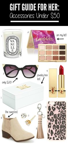 The cutest accessories all under $50!