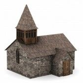 3d Render Of Medieval Building Royalty Free Stock Photo, Pictures, Images And Stock Photography. Image 13745920.