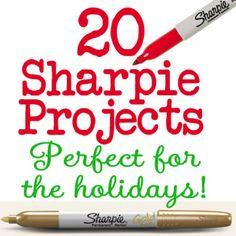 Sharpie projects? Wie weet wat Sharpie is?