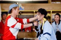 Keep Running, Running Man, Luhan, Ancient Armor, Eternal Love, Sweet Couple, Ulzzang, Lovers, Kpop