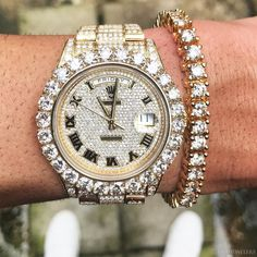 Ice on my wrist  Day-Date II  $50000  Call or Email for Holiday Specials