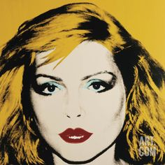 This silk screen by Andy Warhol from 1980 is a portrait of Debbie Harry. (Andy Warhol Museum/Montreal Museum of Fine Arts) Pop Art Andy Warhol, Andy Warhol Portraits, Andy Warhol Museum, Roy Lichtenstein, Jasper Johns, Robert Rauschenberg, Power Pop, Famous Musicians, Famous Artists