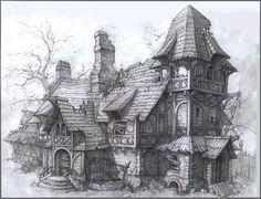 House01 Picture  (2d, architecture, fantasy, house)