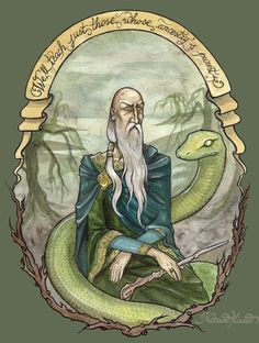"""Salazar Slytherin by UnripeHamadryad - One of the founders of Hogwarts School of Witchcraft and Wizardry and the former friend of Gryffindor. He was a pure-blood wizard skilled at Legilimency and a Parselmouth. The Sorting Hat described him as """"power hungry Slytherin"""". The qualities which Slytherin prized in his """"handpicked students"""" included cleverness, a certain disregard for the rules, and blood purity."""