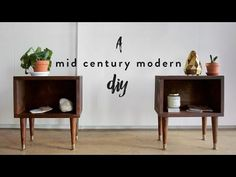 DIY MID-CENTURY MODE