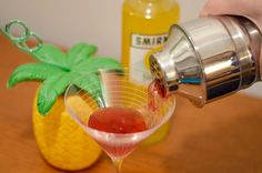 Pineapple Cosmo with