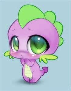 Cute Spike. AWWWWWWWWWWWWWWWWWWW SOO CUTEEEE