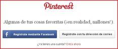 Registrarse en Pinterest - Pinterest Español