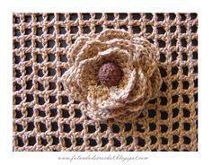 ALLOCUTION DE CROCHET: crochet fleur - LE MATÉRIEL