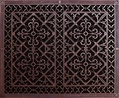 Декоративная решетка 24 х 30 декоративно-прикладного искусства