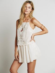 Free People Lucille Mini Dress at Free People Clothing Boutique