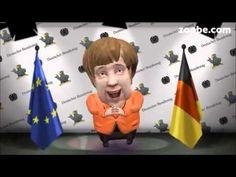 A.Merkel...wurde flachgelegt ;-) Zoobe, Grippe, Animation