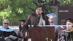 Commencement Address - Dan Ariely, James B. Duke Professor of Psychology and Behavioral Economics at Duke University