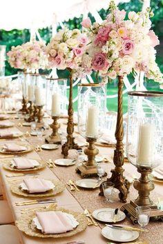 Featured Photographer: Bob & Dawn Davis Photography and Design; Wedding reception centerpiece idea.