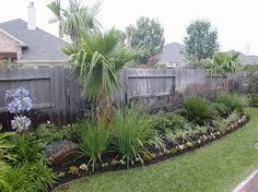 Natural Landscape Design For Garden Of Affordable House Design Ideas With Some Trees And Green Grass Arround Brings Cool Atmosphere Make It Seems Modern Design Of Grey Exterior House Garden Fabolous Landscape Design For A House Garden Houston Landscaping, Home Landscaping, Front Yard Landscaping, Landscaping Design, Landscaping Company, Landscaping Contractors, Landscaping Software, Tropical Landscaping, Tropical Garden
