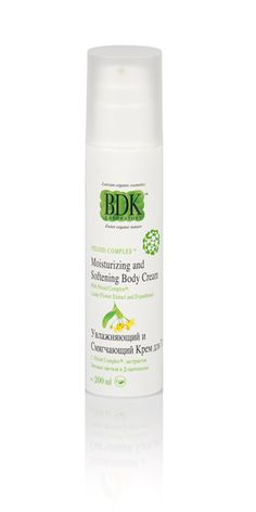 Moisturizing and Softening Body Cream with Linden Flowers extract BDK Laboratory