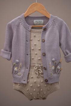 Cardigan Shirt, Cardigans, Sweaters, Akira, Beautiful Hands, Mantel, Hand Embroidery, Cute Babies, Lilac