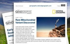 About the Genographic Project - National Geographic