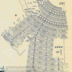 Fabulous Crochet a Little Black Crochet Dress Ideas. Georgeous Crochet a Little Black Crochet Dress Ideas. Crochet Collar, Crochet Jacket, Crochet Cardigan, Crochet Motif, Crochet Shawl, Crochet Stitches, Crochet Patterns, Baby Girl Crochet, Crochet For Kids