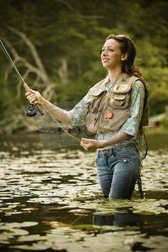 If you've got a girl that loves to go fishing with you...she's a keeper !
