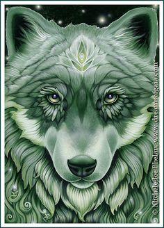 ✯ The Messenger Oracle Seek the Lesson Card 33 :: Artist Ravynne Michele Phelan ✯ [kin - the eyes]