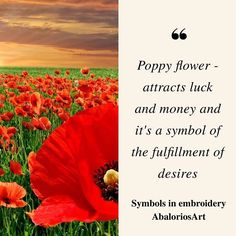 Symbols in embroidery  #Poppy flower  - attracts luck and #money and it's a symbol of the fulfillment of desires ---------------------------------  #abaloriosart #craft #crafts #crafty #artesania #bordado #abalorios #embroidery #beads #beadwork #handmade #picture #pictureoftheday #cute #beautiful #love #art #style #color  #crossstitch #symbols #tips #advice #ideas #justsaying #thoughts #flowers #nature