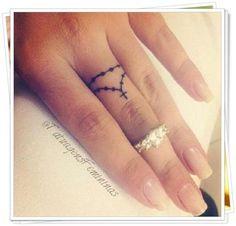 50 Tatuagens Maravilhosas e Ideais Para Fazer Nos Dedos