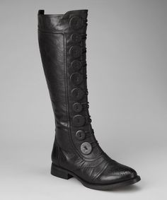 Take a look at this Black Lyndee Boot by Yoki Footwear on #zulily today!