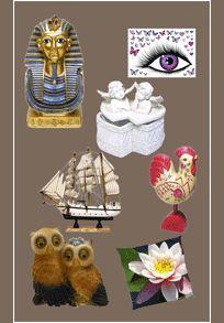 Articles de décoration, collections, ambiances, stickers muraux