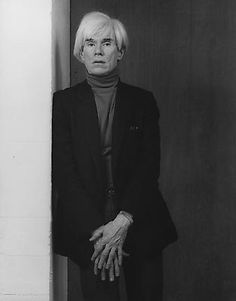 The man was unquestionably talented...but there was also a certain creep factor to him....Andy Warhol by Robert Mapplethorpe, 1983