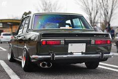Here are real Japanese cars Datsun 510, Datsun Bluebird, Nissan Z, Nissan Infiniti, Old School Cars, Import Cars, Japanese Cars, Car Wheels, Jdm Cars