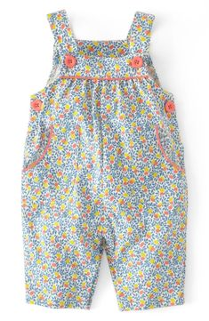 Mini Boden Print Jersey Overalls / (Baby Girls) available at Nordstrom Mini Boden, Little Girl Fashion, Kids Fashion, Baby Dress Patterns, Sewing Patterns, Baby Sewing Tutorials, My Baby Girl, Baby Girls, Free Clothes