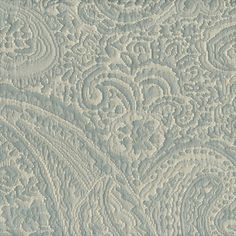 Ice Paisley Floral Woven Upholstery Fabric