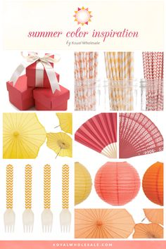 Summer Wedding Color Inspiration!  Get the look at www.koyalwholesale.com