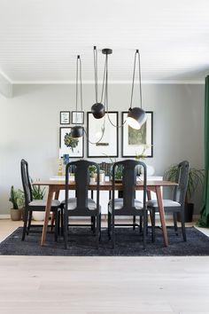 Seks stoler ble til ny førsteetasje - Byggmakker+ Dining Room, Living Room