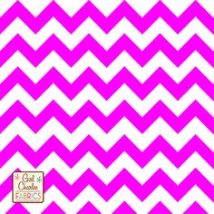 New from Girl Charlee!  Purple Pop Chevron Cotton Jersey Blend Knit Fabric :: $6.20