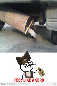 lmao hilarious that I found this... currently this is what is holding my exhaust ahhaa