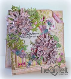 Heartfelt Creations | Purple Enchanted Mums