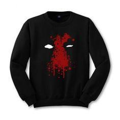 Black sweatshirt Deadpool from X-Men sweatshirts
