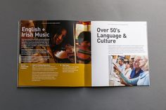 48 pages booklet for the Avanti Language Institute in Naas, Ireland. Concept and design.