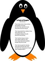 Penguins on Pinterest   Poem, Cute Penguins and Penguin Craft