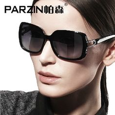 afb8cc5c78b Parzin 2014 New women sunglasses Vintage Glasses Fashion Sunglasses  Polarized Women Sun Glasses UV shases Black