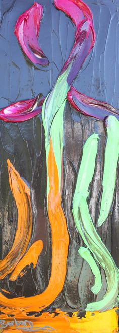 Be Yourself! Barbara Scharpf, human silhouette, yoga art, yoga pose, contemporary impasto, human impasto, human figure art, smooth skin, female yoga, chiropractor, yoga studio art, human body, commissioned work for client, creative womanhood