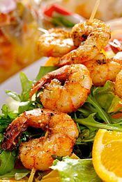 Panamanian Style Shrimp