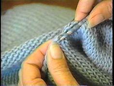 Sweater Finishing: Pick up Stitches Around the Neck*