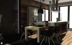 Jadalnia styl Industrialny - zdjęcie od Nasciturus design - Jadalnia - Styl Industrialny - Nasciturus design