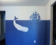 Jackie used an Artograph Tracer Jr. Projector to help her with the guidelines for this wall mural.