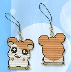 "Cross Stitch ""Hamster Keychain."" - Description, prices in Belarus Goods for…"
