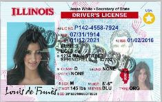48 Best Driver License Templates -photoshop file images in