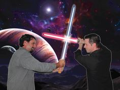 the final confrontation at the edge of the galaxy....
